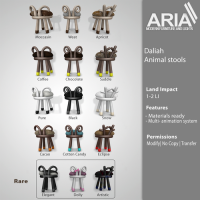 Aria - Animal Stools