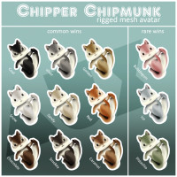 Auxiliary - Chipper Chipmunk