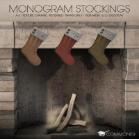 Commoner - Monogram Stockings
