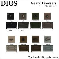DIGS - Geary Dressers
