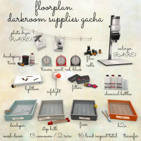 Floorplan - Darkroom Supplies