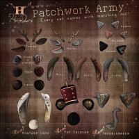 Half Deer - Patchwork Army