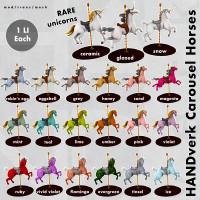 HANDverk - Carousel Horses