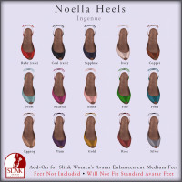 Ingenue - Noella Heels