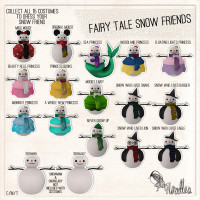 Noodles - Fairy Tale Snow Friends