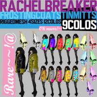 Rachel Breaker - Frosting Coat & Tin Mitts