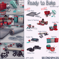 Second Spaces - Ready to Bake