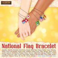 ASO - National Flag Bracelet