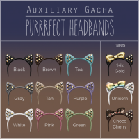 Auxiliary - Purrrfect Headbands