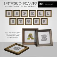 Commoner - Letterbox Frames