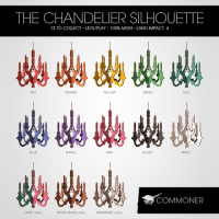 Commoner - The Chandelier Silhouette