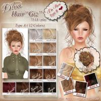"""Diva - Hair """"Giz"""""""