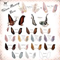 Half-Deer - Velven Bunny Ears