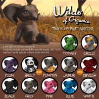 Wild of Organica - Tiny Elephant Avatar