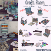Second Spaces - Craft Room