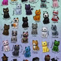 Schadenfreude - Chibi Cats