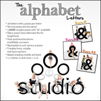 oOo Studio - The Alphabet Letters