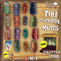 Nylon Outfitters - Tiki Cocktail Mugs