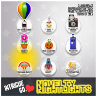 Intrigue Co - Novelty Nightlights