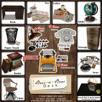 Aisling - Bric a Brac Desk Set
