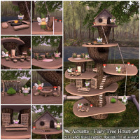 Alouette - Fairy Tree House