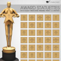 Commoner - Award Statuettes