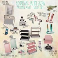 Floorplan - Salon