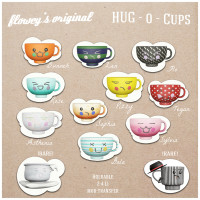 Flowey - Hug-O-Cups