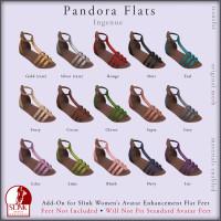 Ingenue - Pandora Flats