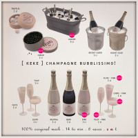[ keke ] - Champagne Bubblissimo