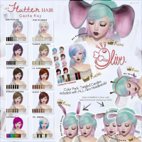 Olive - The Flutter Hair Gacha