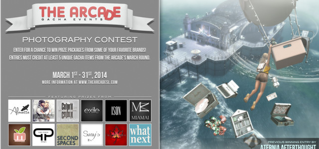 The Arcade Photography Contest – March 2014