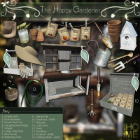 Pixel Mode - The Happy Gardener