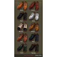 Sleepy Eddy - Semi Brogue Shoes