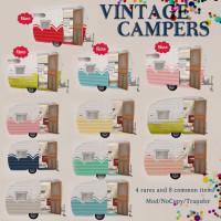 Tres Blah - Vintage Campers