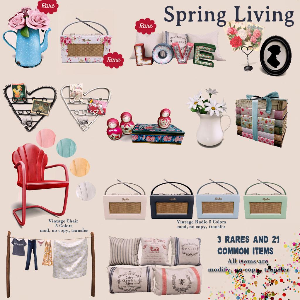 Tres Blah - Spring Living