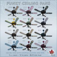 Trompe Loeil - Funky Ceiling Fans