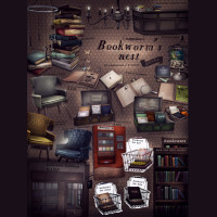 Vespertine -  Bookworm Nest