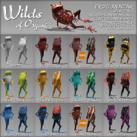 Wilds of Organica - Frog Avatar