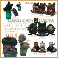 D-lab - Gang Cat2 Bad Kitty