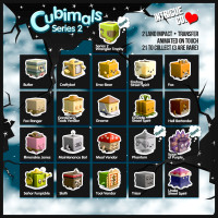Intrigue Co. - Cubimals Series 2