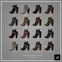 Ison - Avery  Strap Boots