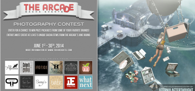 The Arcade Photography Contest – June 2014