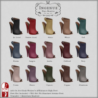 Ingenue - Naja Booties