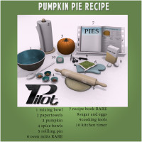 Pilot - Pumpkin Pie Recipe