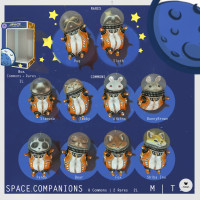 Pixicat - Space Companions