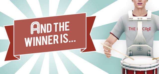 The Arcade Facebook Sweepstake Winner