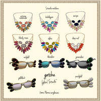 Glow Studio - Stradic Necklaces & Gems Flames Glasses