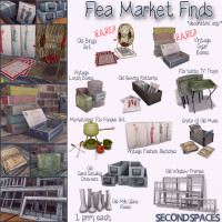 Second Spaces - Flea Market Finds