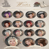 Tableau Vivant - Writer Hair & Accessories